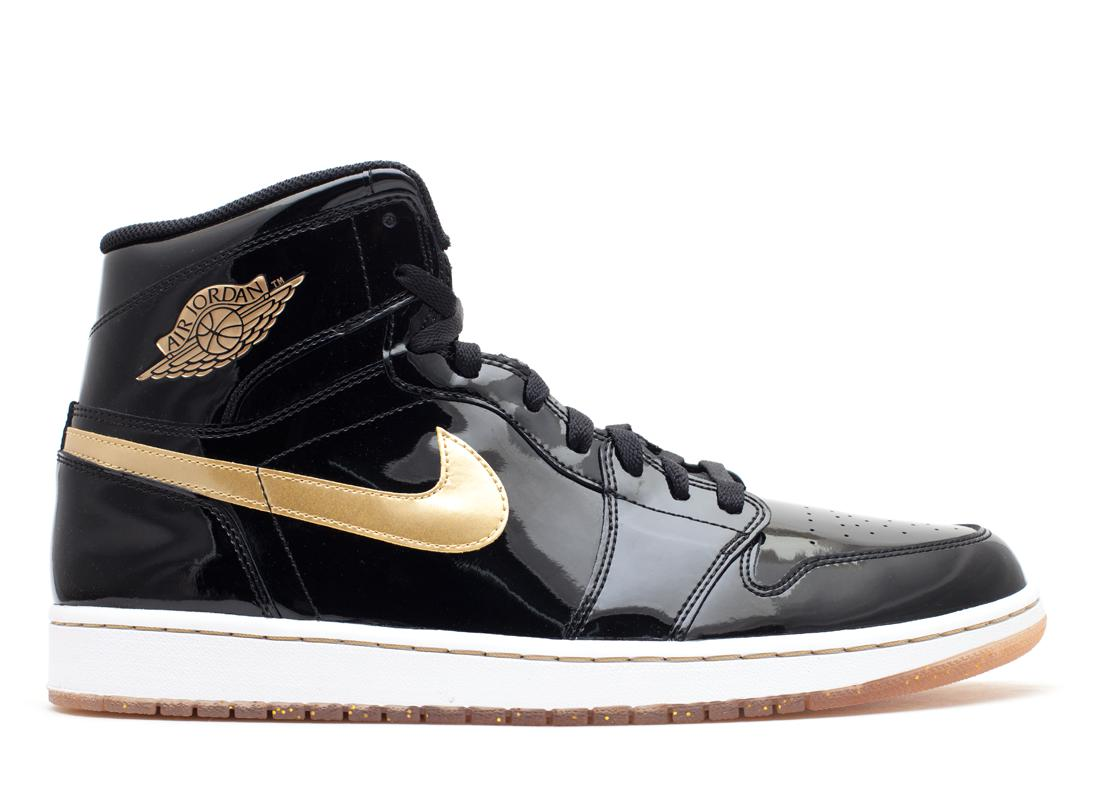 Jordan 1 Retro Black Metallic Gold (2013)