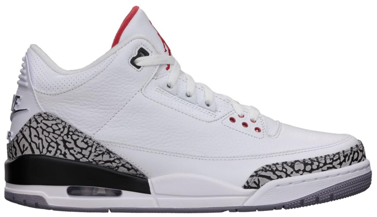 Jordan 3 Retro White Cement ('88 Dunk Contest 2013)