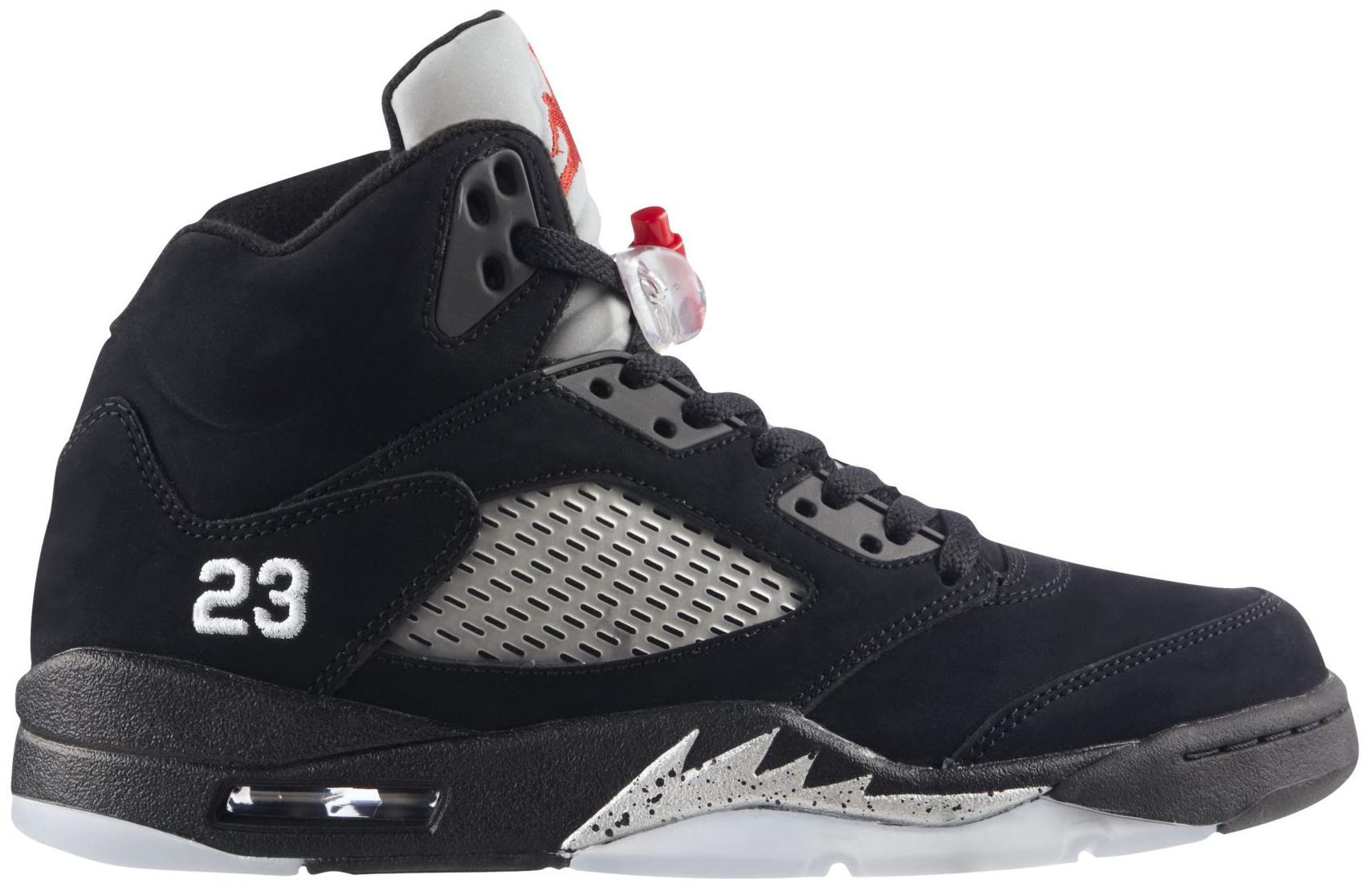 Jordan 5 Retro Black Metallic (2011)